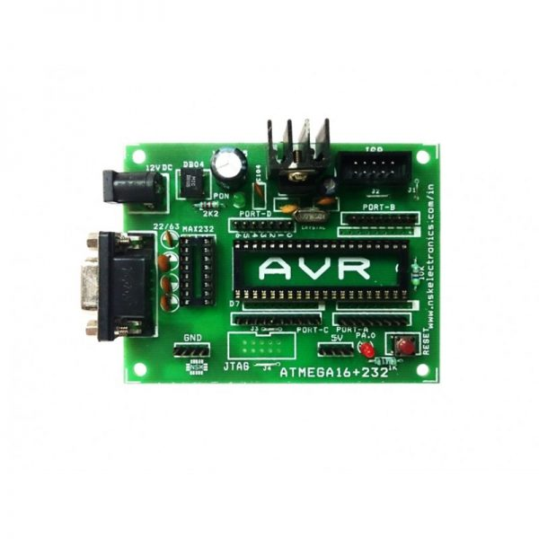 AVR-40PIN-PROJECT-BOARD