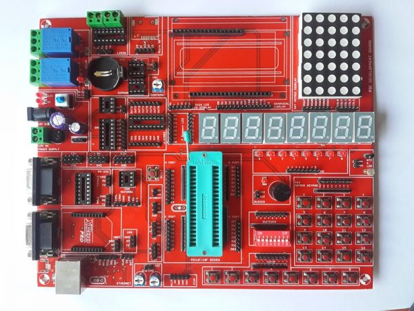 PIC18F4580-DEVELOPMENT-BOARD